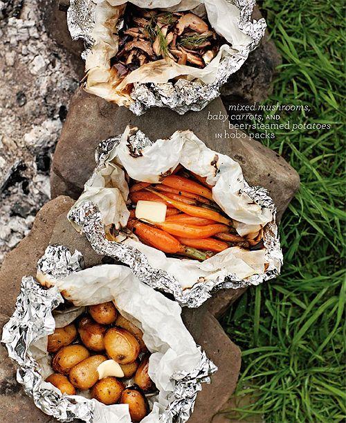 Grillezzünk! Parázsban sült zöldségek
