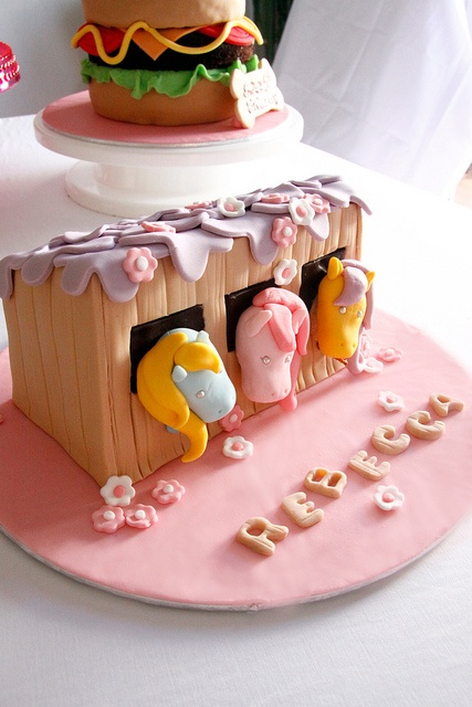 My little ponies by Bake-a-boo Cakes NZ, via Flickr
