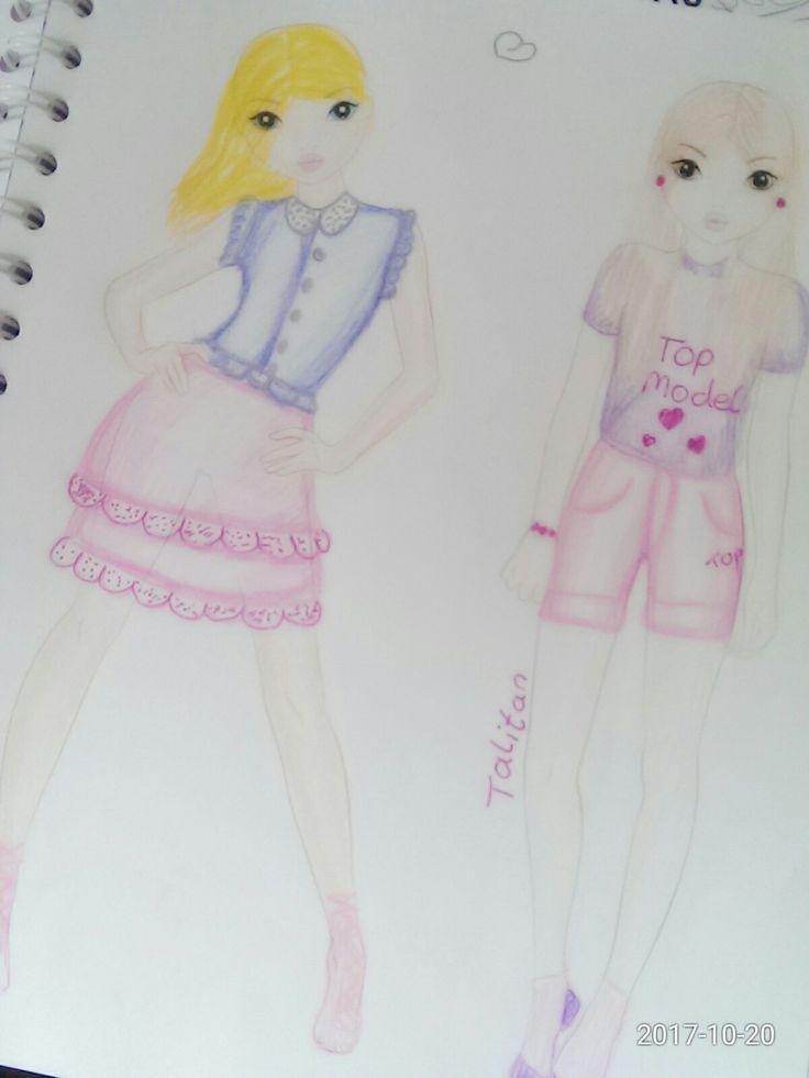 Angefertigtes topmodel outfit | Bilder selbst gestalten ...