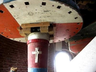 Een kruis in de molen