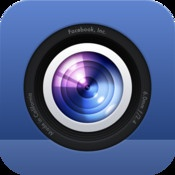 FACEBOOK CAMERA    With Camera, you can share photos on Facebook faster than ever, and see what friends are up to in a feed of nothing but their photos.
