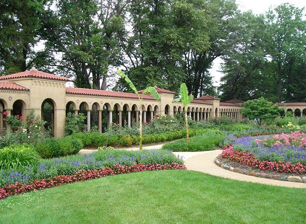 Franciscan Monastery Of The Holy Land Garden, Washington, DC | Surrounding  The Memorial Church