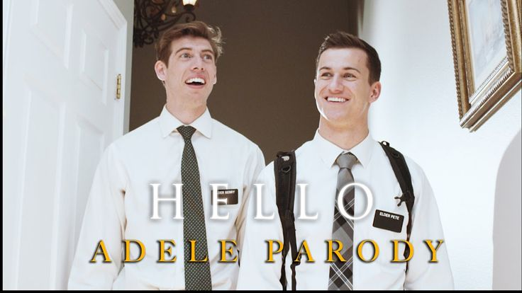 Adele - Hello (Mormon Missionary Parody) - this is cool & good for a bit of a laugh too - love it - enjoy