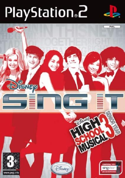 juego ps2 disney sing it high school musical 3