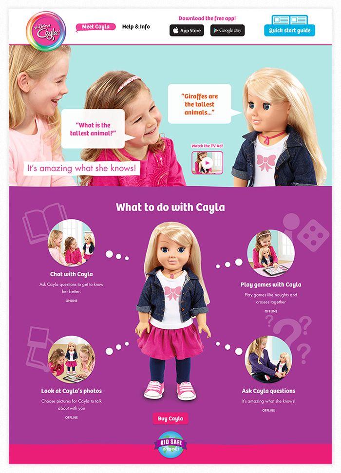 My Friend Cayla Website