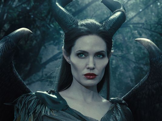 Exclusive: Angelina Jolie's Maleficent has wings! - USA TODAY #AngelinaJolie, #Maleficent