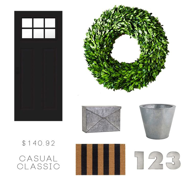 Easy Modern Classic Curb Appeal Update