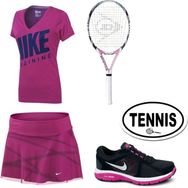 """Tennis Outfit"" by nicolesamile on Polyvore"