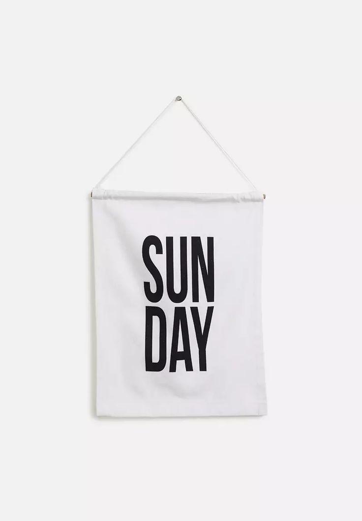 Sunday Wall Banner