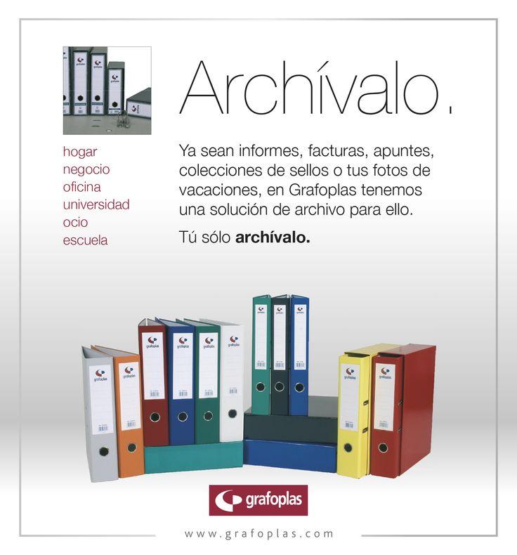 Campaña archivo, publicidad año 2010