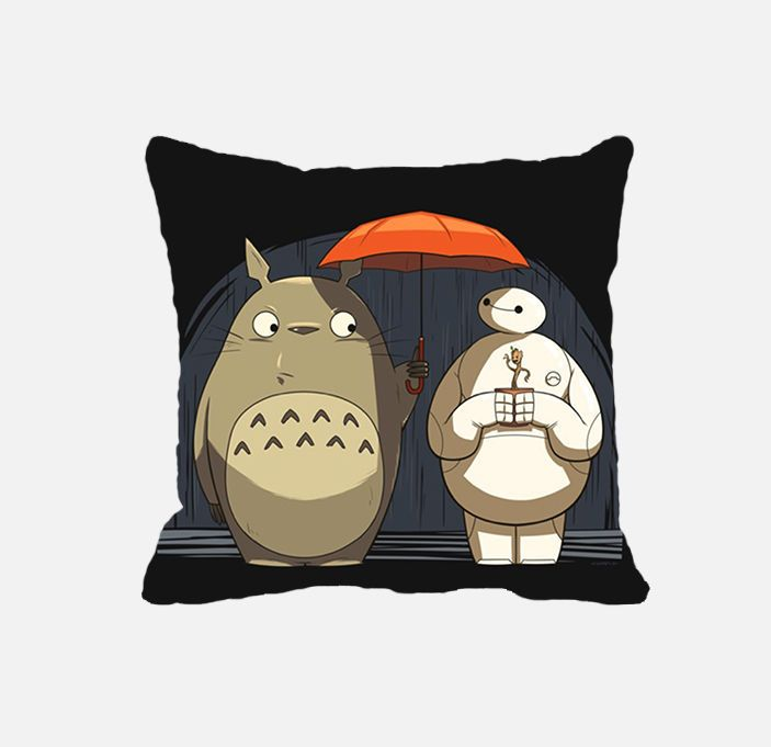 Hello I am Baymax,totoro, i am groot new friends pillow cases