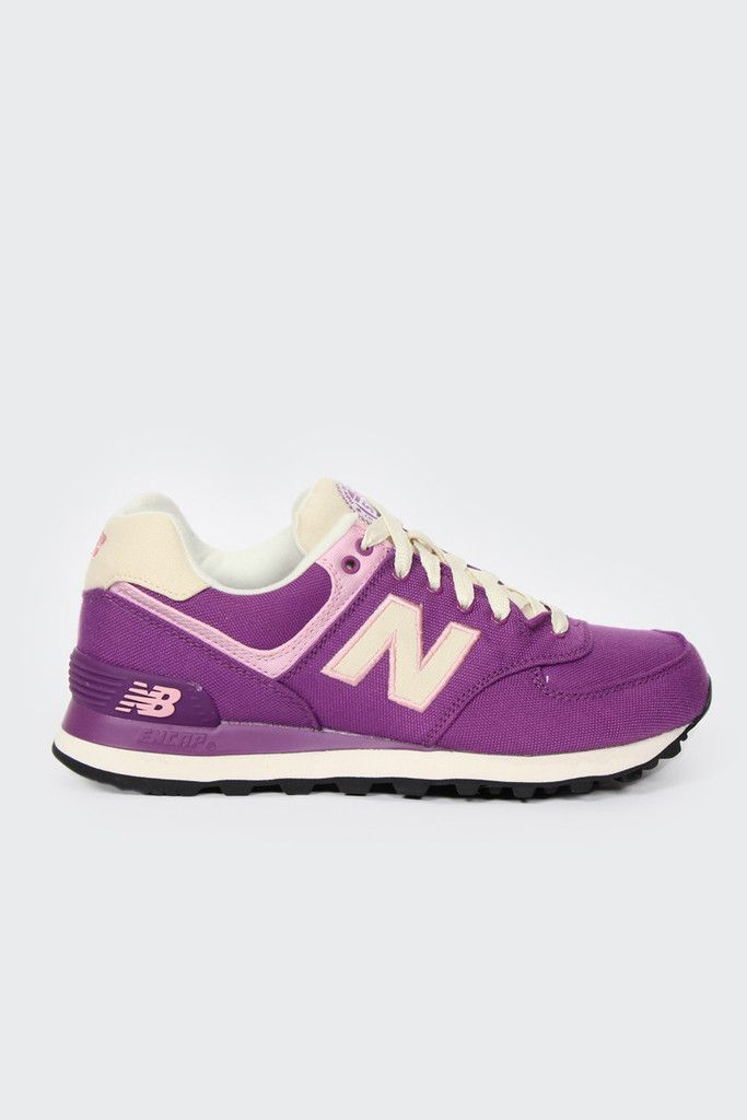 Great Deals New Balance WL574RUV Womens Running Shoes purplenew balance sneakerClearance Prices