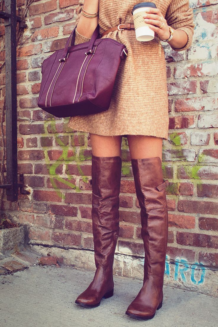You know you're a Shoe Lover when caramel over-the-knee boots are more delicious than caramel macchiatos. Shop the Sammm OTKs and other Steve Madden boots at DSW.