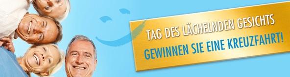 """Am 20.4. startet in Oldenburg die Aktion """"Tag des lächelnden Gesichts"""". Die Auftaktveranstaltung findet während der Gesundheitsmesse in der Weser-Ems-Halle statt. Sie ist der Beginn einer Reihe von fast 40 Veranstaltungen, die über das Jahr 2013 verteilt, in ganz Deutschland stattfinden werden."""