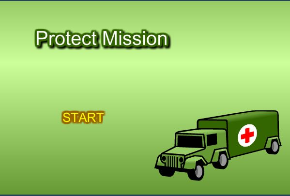 Go on a serious mission of note - and save lives by protecting the medic truck!