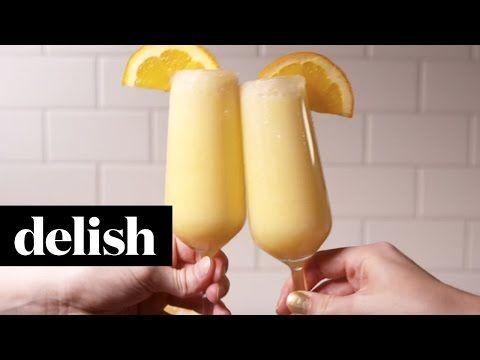 Best Orange Creamsicle Mimosas Recipe - How to Make Orange Creamsicle Mimosas