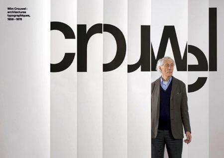 Helvetica » Wim Crouwel Exhibition