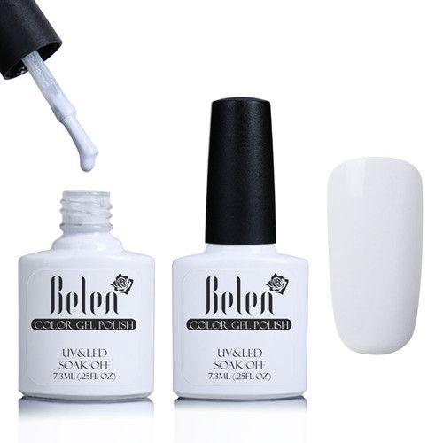 Belen Nail Art Design Manicure UV LED Nails Gel Polish 79 Colors 7.3ML Soak Off Gel Nail Polishes Lacquer Free Shipping