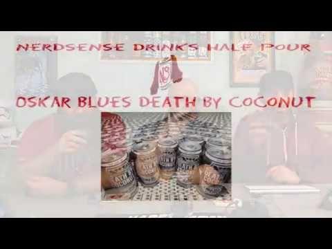Nerdsense Drinks Half Pour - Oskar Blues Death by Coconut #beer #craftbeer #party #beerporn #instabeer #beerstagram #beergeek #beergasm #drinklocal #beertography