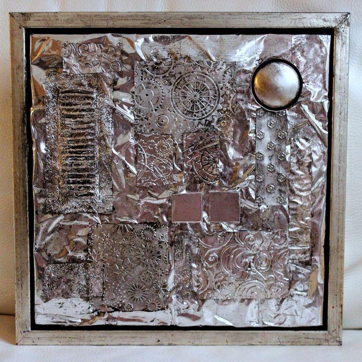 i hverdagen, og andre dage: Kunst med aluminiumtape - en gang til - resume