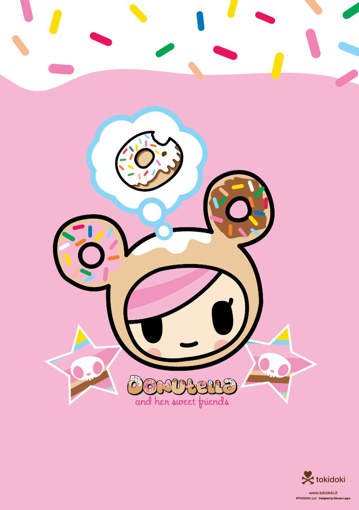 donutella - Tokidoki Donutella Coloring Pages