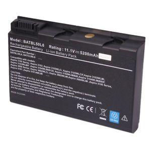 a laptop battery for acer aspire 3100 3690 5100 5510 5610 5630 5650 9120 batbl50l6