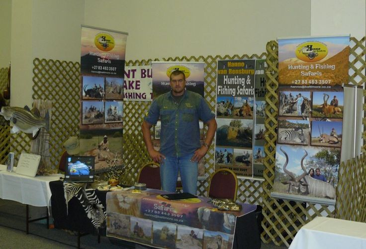 Authentic African Adventures with owner Hanno van Rensburg promoting and marketing in the USA.