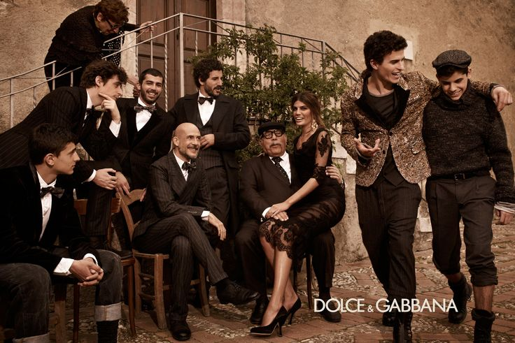 Dolce & Gabbana Fall/Winter 2013 Man campaign; Mariano Vivanco photography.