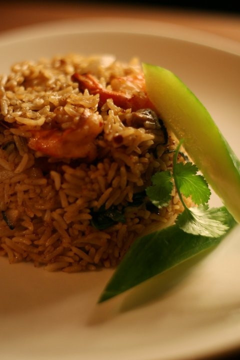 prawn fried rice shiitake mushroom recipe chilli prawns mushrooms ...