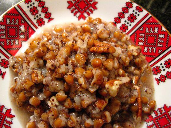 kutia, cold wheat poppyseed