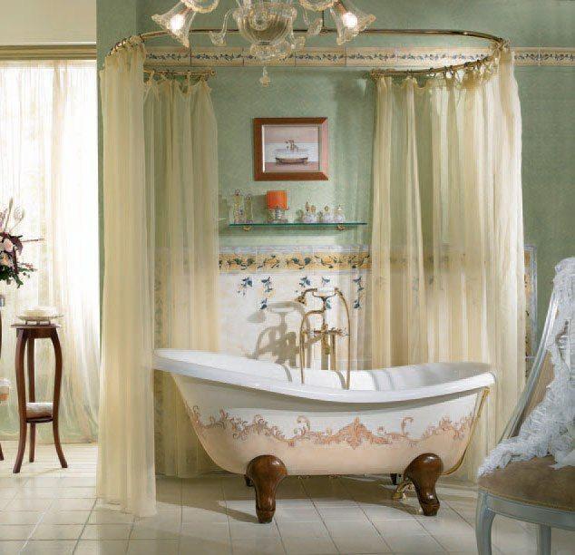 Вы сделали #ремонт, установили новую #сантехнику, осталось добавить последний штрих — #карниз и #занавески для ванны.  Выбрав красивый, прочный и надежный карниз, вы гарантировано обезопасите свою ванную комнату от разбрызгивания воды во время приема душа.  Всегда поможем с выбором: http://santehnika-tut.ru/karnizy-dlya-vann/