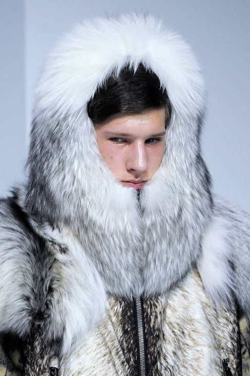 Moncler Gamme Rouge Fall 2013 Ready-to-Wear Beauty - Moncler Gamme Rouge Ready-to-Wear Collection