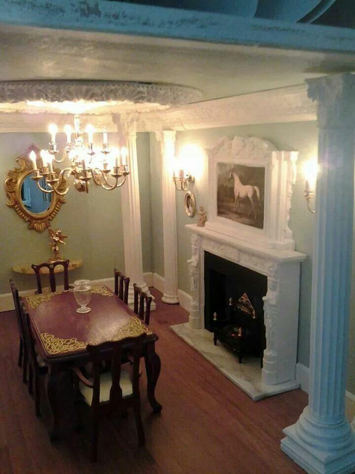 Gill Hannam Foyer IdeasMiniature RoomsHouse