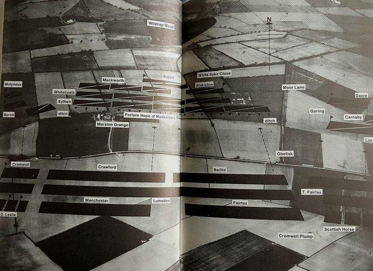 "Plan of Marston Moor. Taken from ""Battles in Britain"" by William Seymour"