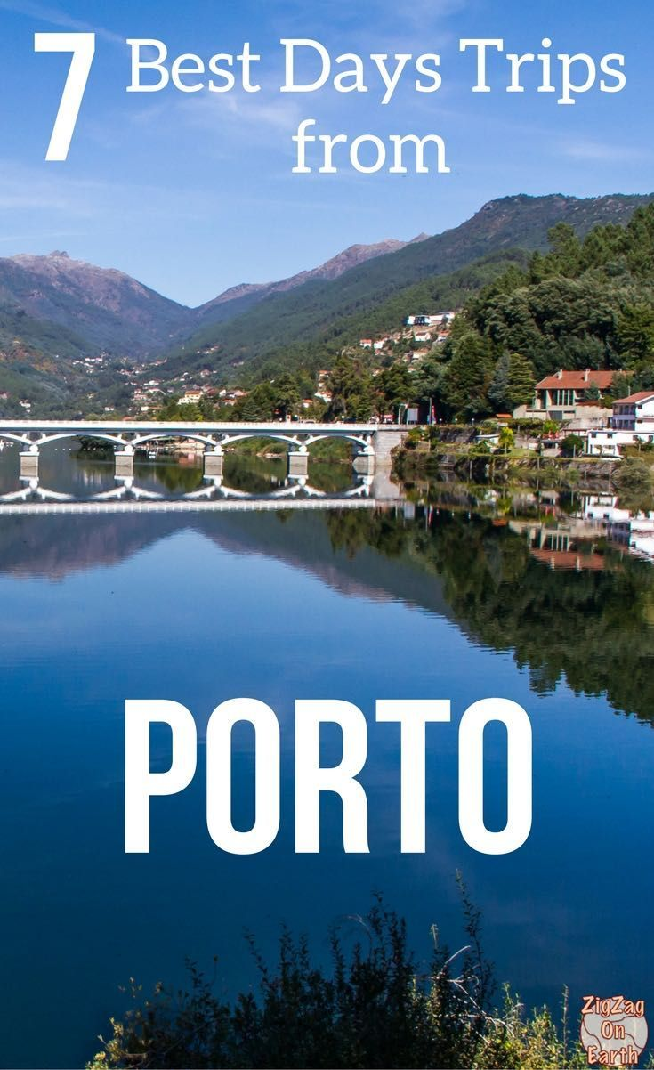 Portugal Travel Guide - Best day trips from Porto Portugal - plan you trip with Douro Valley wine tasting tours, Unesco sites and National parks... | #Portugal | Portugal things to do | Portugal itinerary