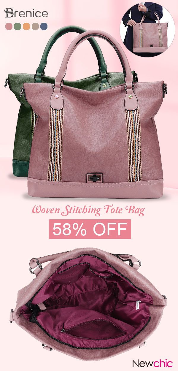 685bb4476d Brenice Soft Leather Woven Stitching Tote Bag Handbag Large Capacity  Crossbody Bag For Women  softleather  tote  bags  handbags