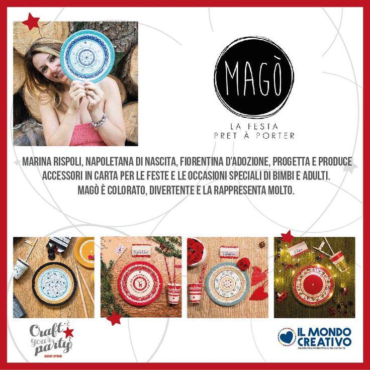 Scopri con noi le #blogger protagoniste che troverai per tutte e tre le giornate de #ilmondocreativo. #bologna #fiera #craftyourparty