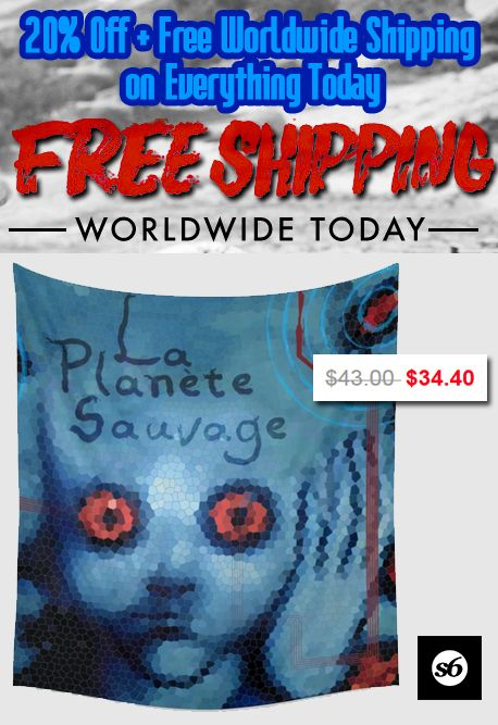 La Planete Sauvage Wall Tapestry. #discount #walltapestry #tapestry #save #sales #society6 #movie #buytapestry #laplanetesauvagetapestry #movietapesties #cooltapestries #mancave #giftsforhim #giftsforher #moviegifts #animation #discounttapestries #moviestapestry