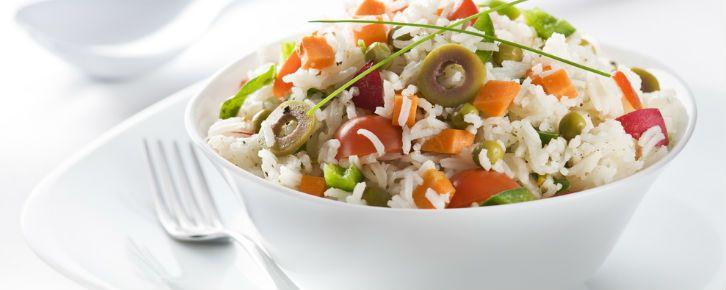 Receita De Salada De Arroz Receitas De Arroz Integral Receitas