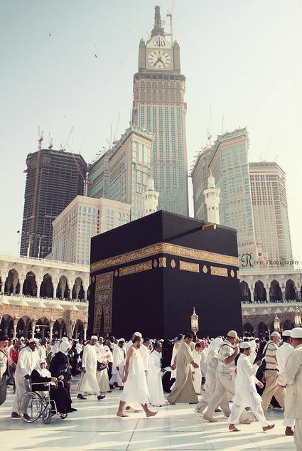 The Ka'aba in Mecca