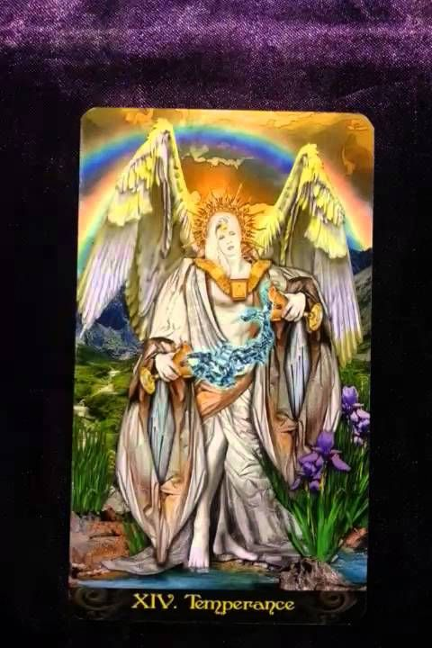 The coming week's reminder is brought to us by Temperance When we are functioning optimally, the energies it represents for us would be being in a state of b...