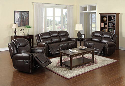 Nora Brown Leather Reclining 3 pc Living Room Sofa set For Sale https://loveseatreclinersreviews.info/nora-brown-leather-reclining-3-pc-living-room-sofa-set-for-sale/