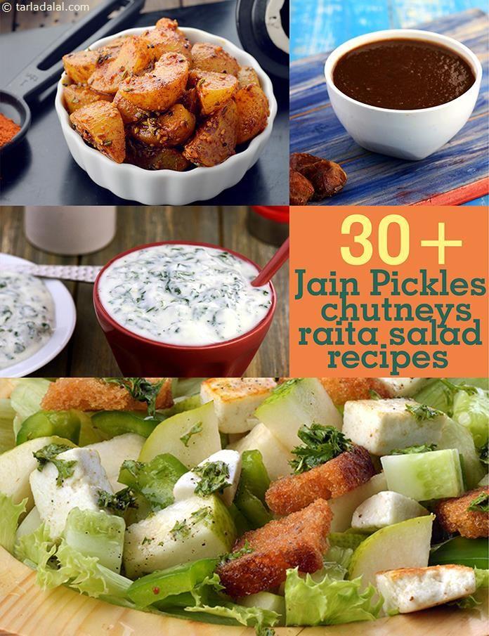 Jain Pickle Recipes, Taditional Jain Chutney Recipes, Salad Recipes for Jains, Tarladalal.com | Page 1 of 3