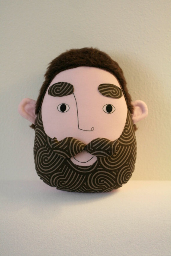 pillow face  AURELIO by pollaz on Etsy