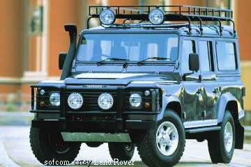 Landrover Defender - to go everywhere (almost)