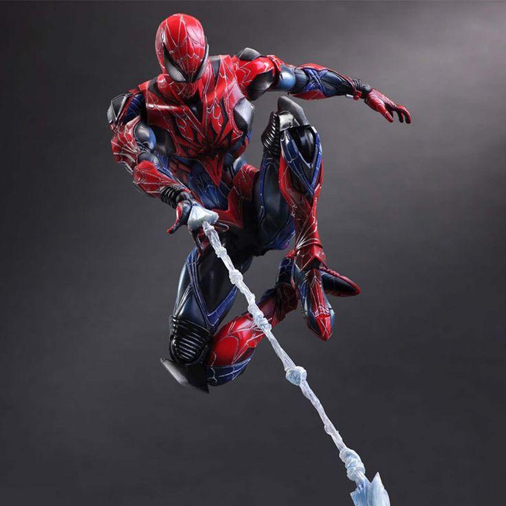 Marvel Universe Spider-Man Variant Play Arts Kai Action Figure