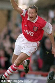 Paul Merson - Arsenal - as a player.