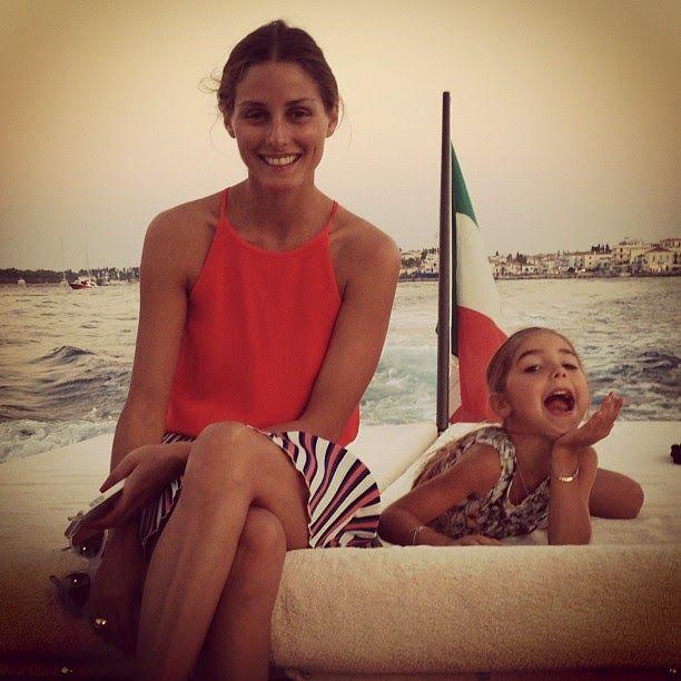 THE OLIVIA PALERMO LOOKBOOK: Olivia Palermo with Tamara Beckwith Veroni daughter Violet
