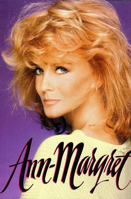 Ann- Margret on the cover of her autobiography.