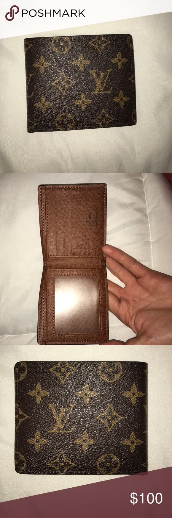 Louis Vuitton Men's Bi-Fold Wallet Mens Louis Vuitton Bi-Fold Wallet (willing to negotiate) Louis Vuitton Other